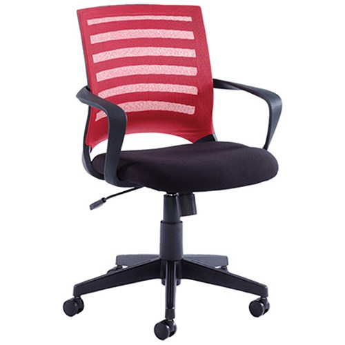 Office Furniture|Office Chairs Vega Mesh Operator Chair - Red
