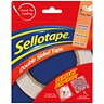 Image of Sellotape Double-sided Tape / 12mm x 33m / Pack of 12