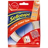 Image of Sellotape Double-sided Tape / 15mm x 5m / Pack of 12
