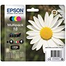 Image of Epson 18 Inkjet Cartridge Multipack - Black, Cyan, Magenta and Yellow (4 Cartridges)