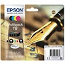 Image of Epson 16 Inkjet Cartridge Multipack - Black, Cyan, Magenta and Yellow (4 Cartridges)
