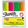 Image of Sharpie Fluo XL Highlighter / Assorted Colours / Pack of 4