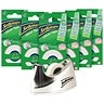 Image of Sellotape Clever Tape + Dispenser / Write On, Copier Friendly, Tearable / 18mmx15m / 6 Rolls