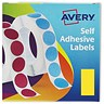 Image of Avery Label Dispenser for 25x50mm / Yellow / 24-603 / 400 Labels
