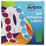 Image of Avery Label Dispenser for 25x50mm / Green / 24-604 / 400 Labels