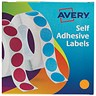 Image of Avery Dispenser for 19mm Diameter Labels / Orange / 24-608 / 1120 Labels