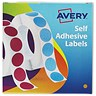 Image of Avery Dispenser for 8mm Diameter Labels / Orange / 24-619 / 1400 Labels