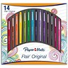 Image of Paper Mate Fine Line Marker / 0.8mm Line / Assorted / Pack of 14