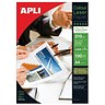 Image of Apli A4 Glossy Double-Sided Laser Paper / White / 210gsm / Pack of 100 Sheets