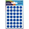 Image of Avery Coloured Labels / 12mm Diameter / Blue / 32-308 / 216 Labels