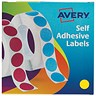 Image of Avery Dispenser for 19mm Diameter Labels / Yellow / 24-508 / 1120 Labels