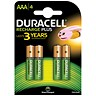 Image of Duracell Rechargeable Battery / Accu NiMH 750mAh / AAA - Pack of 4