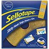 Image of Sellotape Sticky Hook Strip / 25mmx12m / Yellow
