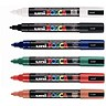 Image of uni Posca PC5M Markers / Medium Tip / Assorted Colours / Pack of 6