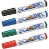 Image of Bic Velleda 1751/1754 Whiteboard Marker / Chisel Tip / Assorted Colours / Pack of 4