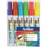 Image of Artline Glass Markers / Assorted Colours / Pack of 6