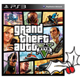 Free on Orders over £999 - PS3 Grand Theft Auto 5 game
