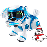 Free on Orders over £999 - Teksta Robotic Puppy - Blue