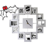 Free on Orders over £249 - Photoframe Clock