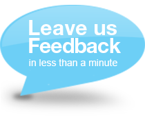Leave us feedback on your shopping experience