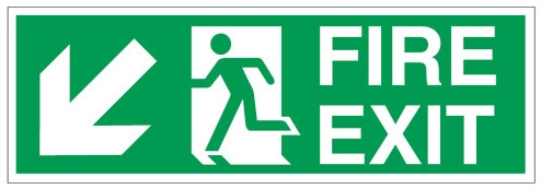 Fire Exit Signs Paperstone